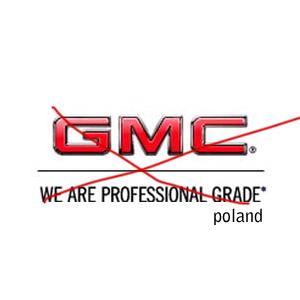 Firma GMC w Polsce