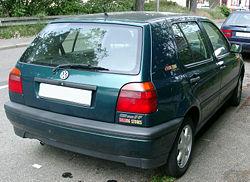 Właściwości VW Golf III